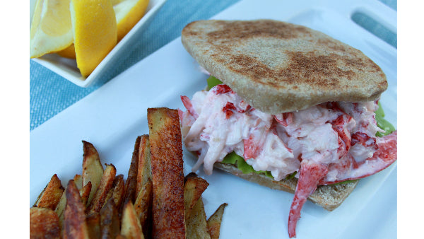 New England Lobster Roll Sandwich Recipe