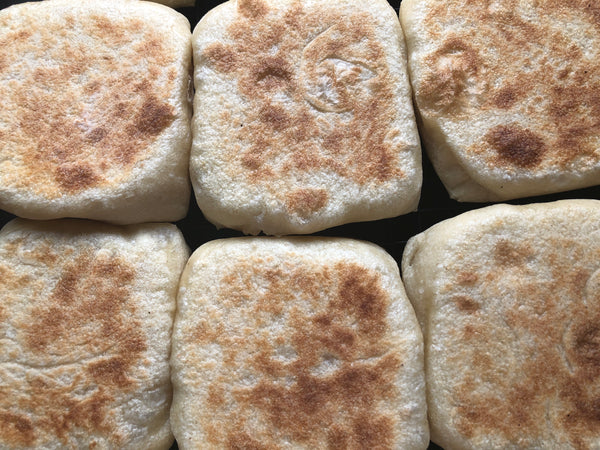 artisan style dam good english muffins original white variety