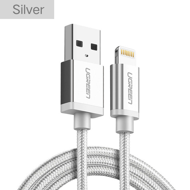 Ugreen 2.4A MFi Lightning to USB Data Charging Cable for Apple Products