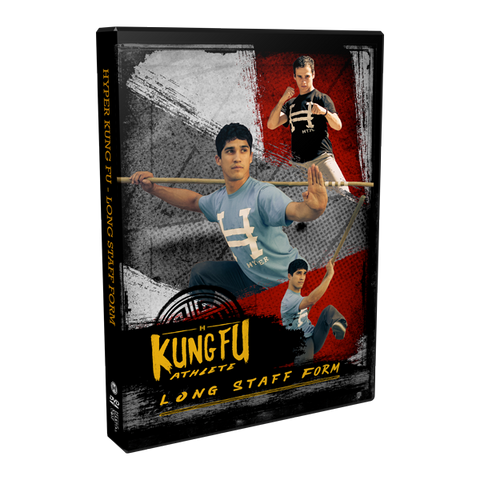 Kung Fu Long Staff DVD