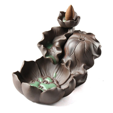 Lotus Pond Incense Burner
