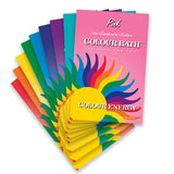 Colour Bath Envelopes - Nine Colours To Choose From
