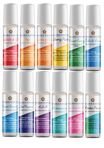 Colour Your Mood Body Blends - 10ml Roll-on