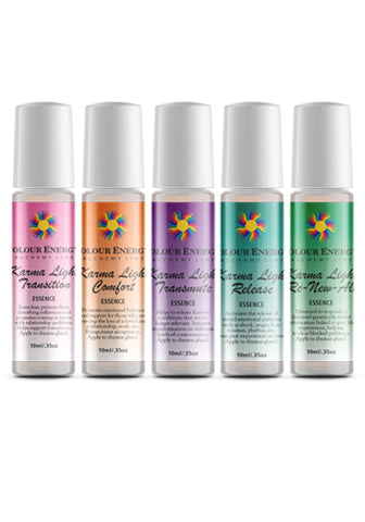 Karma Light Essences - 10ml Roll-on Bottles