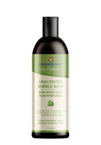 Natural Unscented Bubble Bath - 473ml