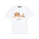 Palm Angels Bear Logo Tee | White