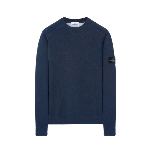 Stone Island Dust Treatment Sweatshirt | Dark Periwinkle
