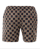 Burberry Check Print Drawcord Swim Shorts