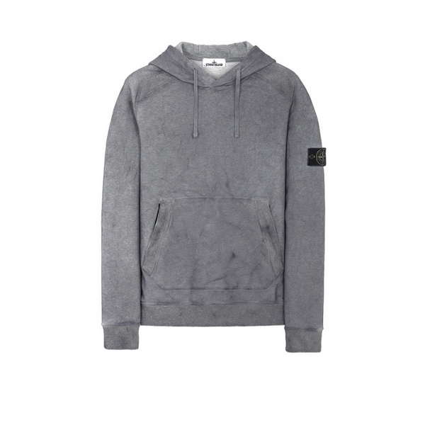 Stone Island Dust Treatment Hoodie | Charcoal