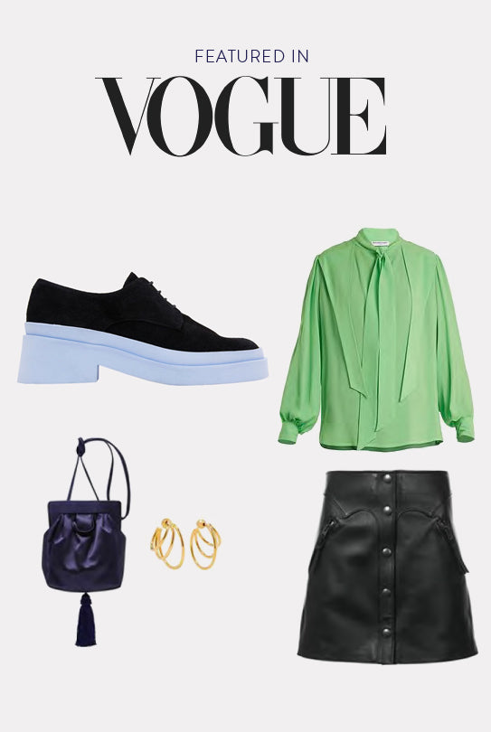 Elliot Oxford Boot Featured in Vogue
