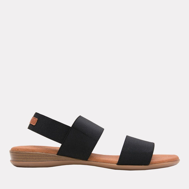 Nigella Featherweights TM Elastic Sandal (Black)