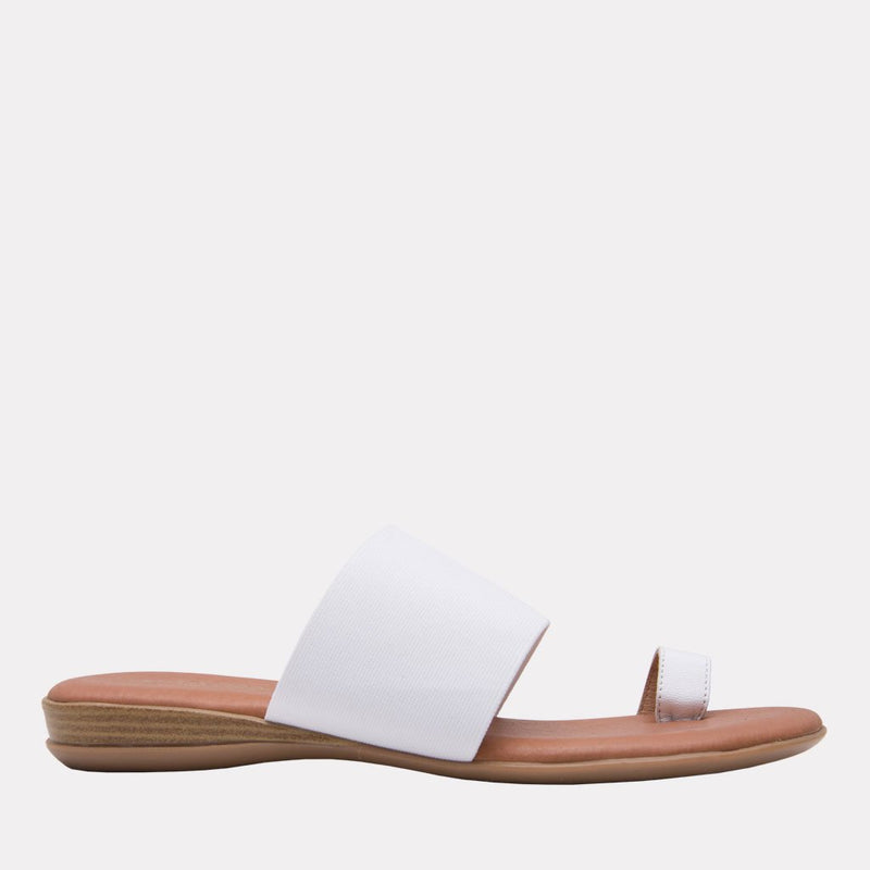 Vini Elastic Elastic Toe Ring Slide (White)