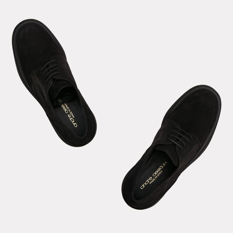 Elliot Suede Oxford (Black/Black)