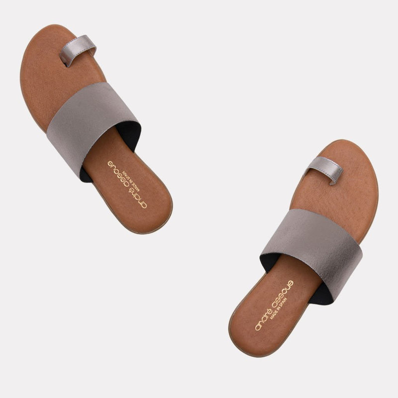 Vini Elastic Elastic Toe Ring Slide (Pewter)