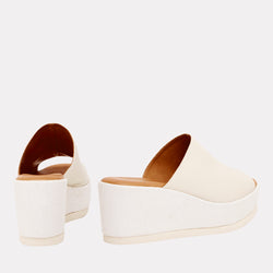 Clara Wedge (White)