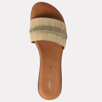 Isabel  Featherweights ™ Slide Sandal (Beige)