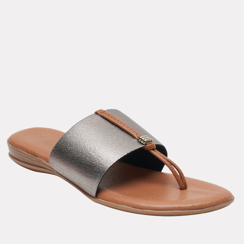 Nice Featherweights ™ Elastic Sandal (Pewter)