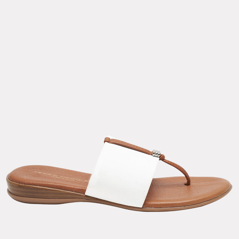 Nice Featherweights ™ Elastic Sandal (White)