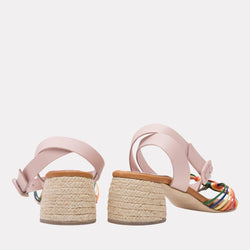 Espadrille - Leonor Woven Vaquetta Leather Espadrille (Multi)
