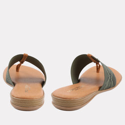 Nice Featherweights ™ Elastic Sandal (Green Snake)