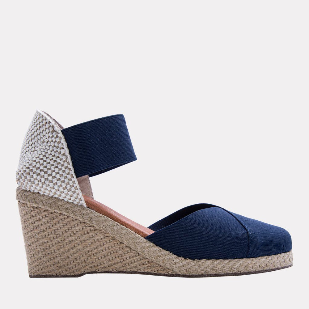 Sandal - Anouka Mid Suede Sandal (Navy)