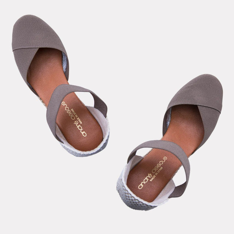 Sandal - Anouka Mid Suede Sandal (Taupe)