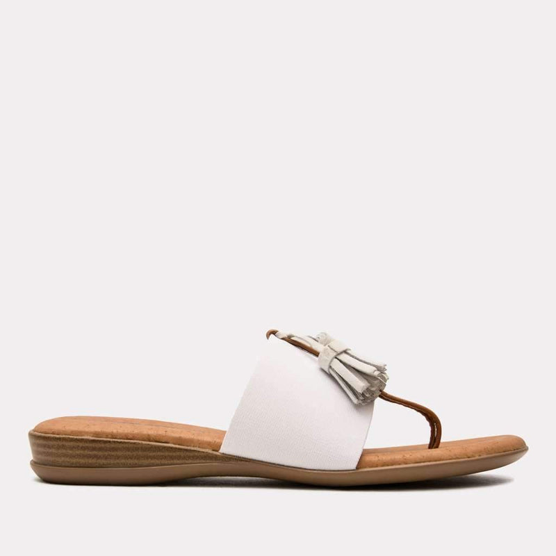 Sandal - Nancy Elastic Sandal (White)