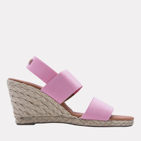 Allison Elastic Wedge (Rose)