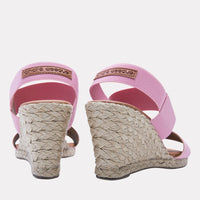 Wedge - Allison Elastic Wedge (Rose)