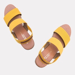 Wedge - Allison Elastic Wedge (Saffron)
