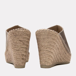 Wedge - Cici Suede Wedge (Pewter)