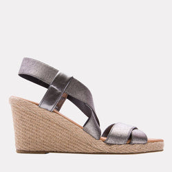Wedge - Dalmira Mid Elastic Wedge (Pewter)