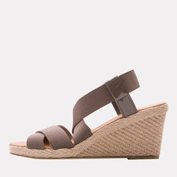 Wedge - Dalmira Mid Elastic Wedge (Taupe)