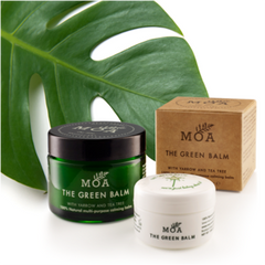 MOA (Magic Organic Apothecary)'s Green Balm in 2 sizes from well&belle in Canada
