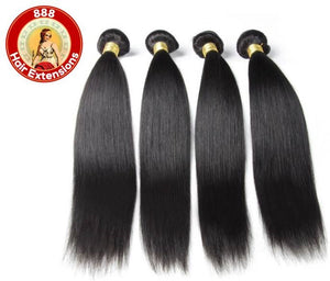 100% High Quality Brazilian Straight Hairs samples