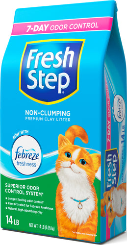 Fresh Step Multi-Cat Con Frebreze