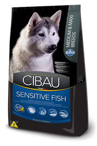 Cibau Sensitive Fish Adulto medium maxi Canino