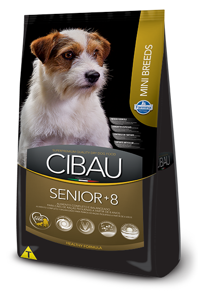 Cibau Senior + 8 Mini Canino