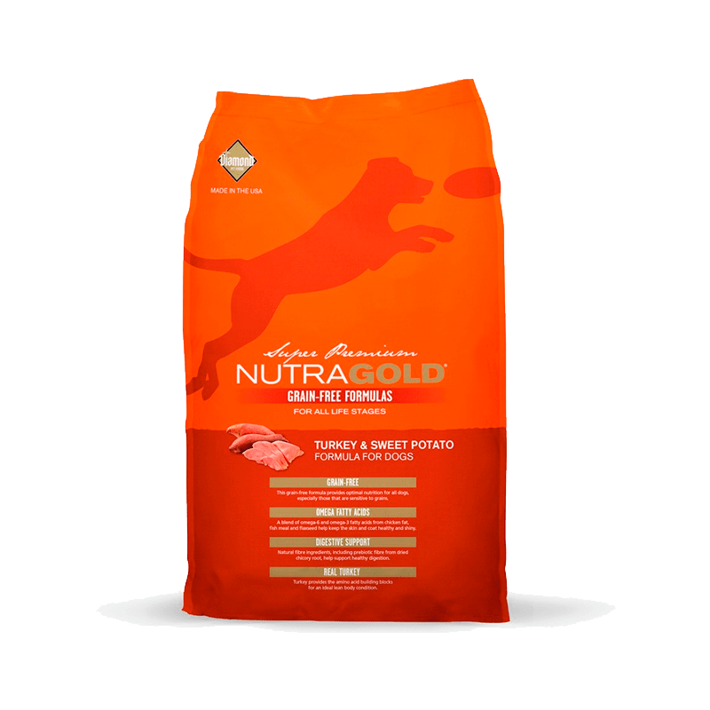ALIMENTO PARA PERRO NUTRA GOLD TURKEY & SWEET POTATO