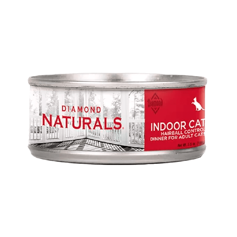 Alimento Diamond Naturals Gato Indoor hb Lata  5.5Oz