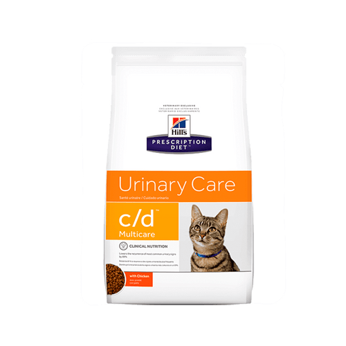 Alimento Hills Felino Urinary Care c-d Multicare Pollo 4Lb
