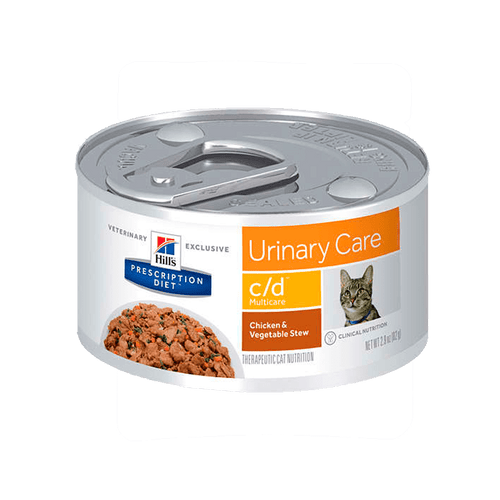 Alimento Hills Felino Urinary Care c-d Multicare Pollo  Lata 5,5Oz