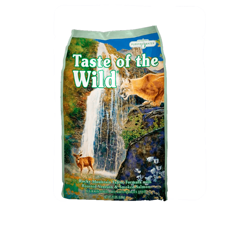 Alimento Taste of The Wild Gato Rocky Mountain