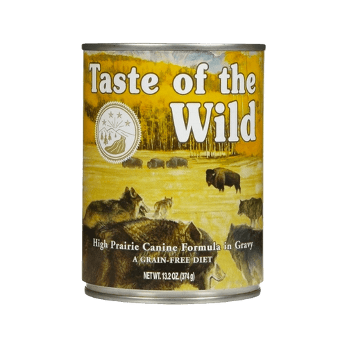 Alimento Taste of The Wild Perro Adulto Prairie Húmedo 13,2Oz