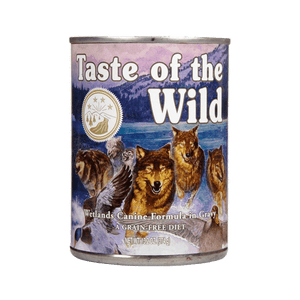 Alimento Taste of The Wild Perro Adulto Wetlands Lata 13,2Oz