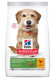 Alimento Hills Canino YOUTHFUL V SMALL&TOY BREED 3.5lb