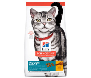 Alimento Hills Gato Adulto INDOOR FOOD 3,5Lb