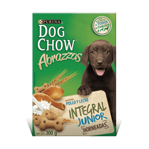 Snack Dog Chow Abrazzos Integral Junior X300GR