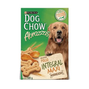 Snack Dog Chow Abrazzos Integral Maxi X 500GRS