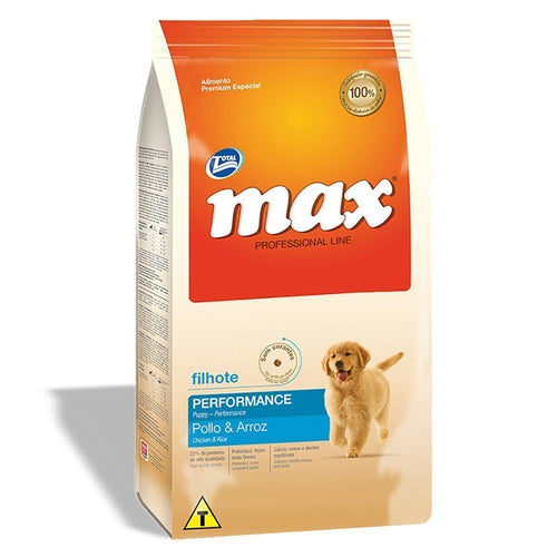 Alimento Canino Total Max Performance Cachorro Pollo